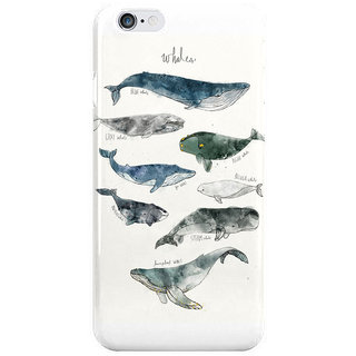 Dreambolic Whales I Phone 6S Back Covers