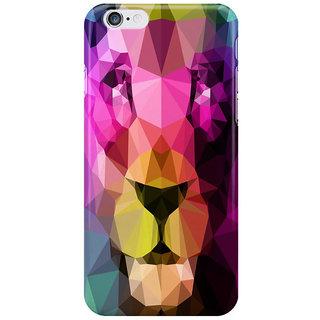 Dreambolic Wild Neon I Phone 6S Back Covers