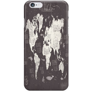 Dreambolic The World Map I Phone 6S Back Covers