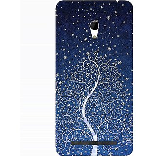 Casotec Magic Tree Design 3D Hard Back Case Cover for Asus Zenfone 6