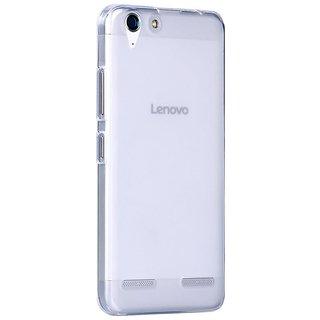 online store a8e3e b3b0f Buy LENOVO VIBE K5 A6020a40 SOFT TRANSPARENT CASE (GOLD/SILVER ...
