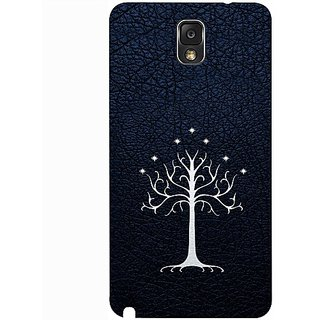 Casotec Magic Tree Pattern Design 3D Hard Back Case Cover for Samsung Galaxy Note 3 N9000