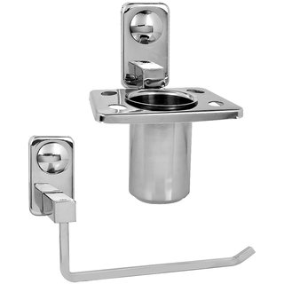 Doyours Stainless Steel Tumbler Holder  Towel Ring (Square series)