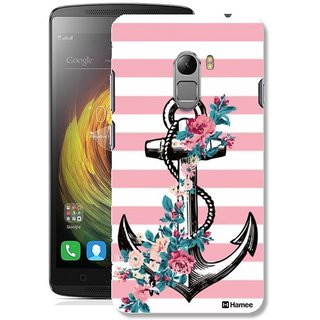 ... Cover Thin Fit Crystal Clear Plastic Hard Back Case for Lenovo K4 Note / Lenovo Vibe K4 Note / Lenovo A7010 / Lenovo Vibe X3 Lite (Anchor Stripes)