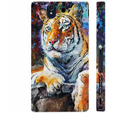 Enthopia Sony Xperia Z Case - ED 5136 - BENGAL TIGER