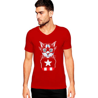Uptown 18 Red Printed t-shirt