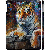 Enthopia Ipad Air Case With Smart Cover - ED 5136 - BENGAL TIGER