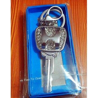 key shaped Key Chain full metallic car and bike