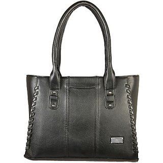 Louise Belgium Hand-held Bag (Black - 057)