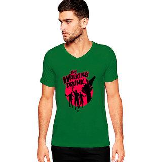 Uptown 18 Green Printed t-shirt