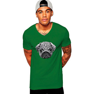 Uptown 18 Green Printed t-shirt