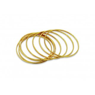 Plain Golden Bangles