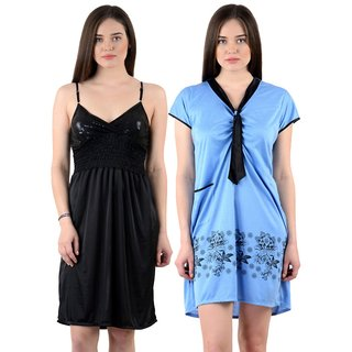 Buy Cliths Womens Stylish Sexy Nighty-Pack of 2 CL-NTY-0405 Online - Get  59% Off 4322f70e5