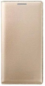 Limited Edition Golden Leather Flip Cover for Oneplus Three