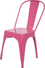 Dezaro Metal Chair Pink