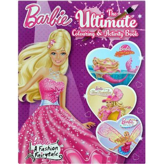 set of 2 barbie..colouring books...