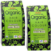 Radico Colour Me Organic Golden Brown Hair Colour - 100g (Set Of 2)