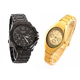 Stylish Casual Watches For Mens- Combo of 2