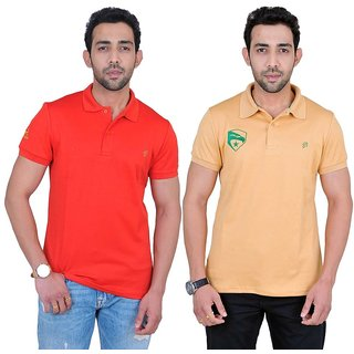 Fabnavitas Mens Polo T-shirt Pack of 2