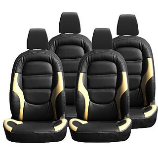 Ford Figo Aspire Black Leatherite Car Seat Cover