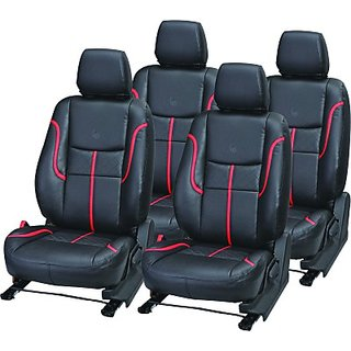 Hyundai I20 Active Black Leatherite Car Seat Cover