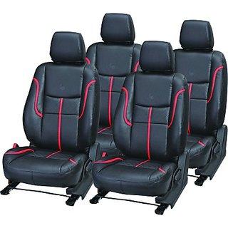 Toyota Etios Liva Black Leatherite Car Seat Cover
