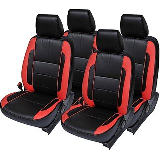 Hyundai Xcent Black Leatherite Car Seat Cover