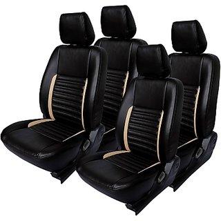 Honda City Black Leatherite Car Seat Cover