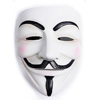 Futaba V for vendetta halloween horror mask - White