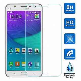 Mascot max Tempered glass for Samsung j7 2016 (clear)