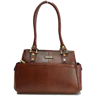 Moochies Ladies Genuine Leather Purse,Color-Tan emzmoclpN15tan