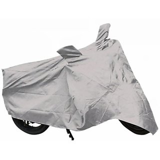 Motorcycle/Bike Cover For Hero Motocrop Archiever -Silver