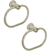 Doyours 2 Pieces Stainless Steel Ovel Towel Ring