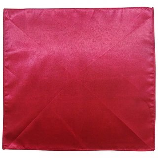 Serebroarts Solid Polyester Pocket Square