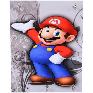 TCG Wooden Key Holder-Mario