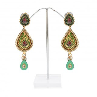 Reva Multicolor Alloy Fashion Dangler Earring
