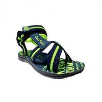 Super Divine Collections - PU GLK Goodlook Sandal - Blue Green