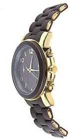 Deimos Brown Golden Smart Analog Watch For Womens,Girls