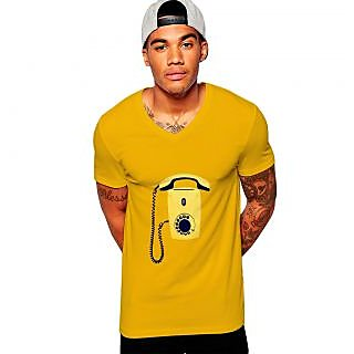 Uptown 18 Yellow Printed t-shirt