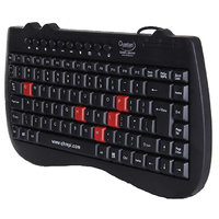 QHM7309 MINI SLIMTEK MULTIMEDIA USB KEYBOARD (QUANTUM)