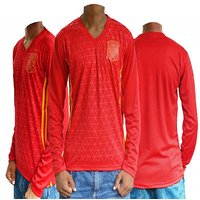 Spain Football Team Upper Full Sleeves Jersey ( Red )