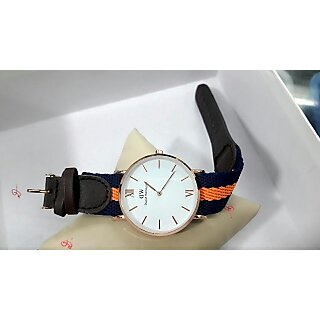 White Dial Mens Watch