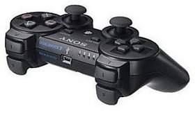 New DualShock PS3 Wireless Controller For Sony Ps3 (Black)