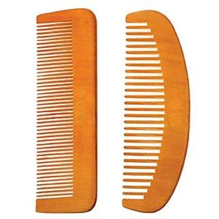 Wooden comb 2pcs DDH-1114