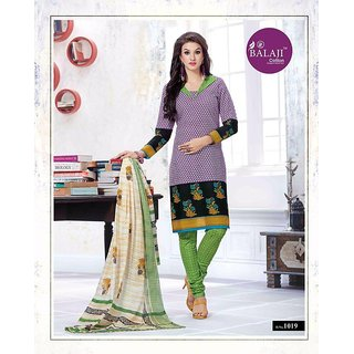Balaji Cotton Designer Salwar Suit Dress Material JBCV10-1019