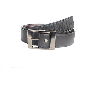 Aam Shopping Men Black Genuine Leather Belt ASB00682