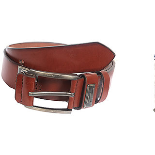 Aam Shopping Men Brown Genuine Leather Belt ASB00686
