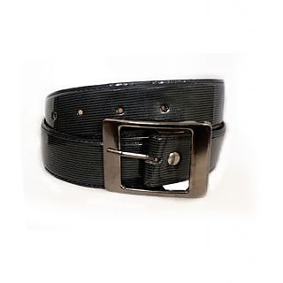 Aam Shopping Men Black Artificial Leather Belt ASB0651