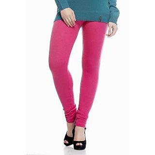 Escan Pink Lycra Solid Legging