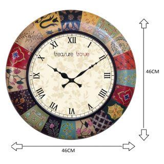 Treasure trove painting wall clock